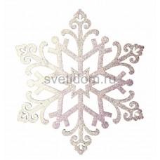 Елочная фигура Снежинка Снегурочка, 81 см, цвет белый Neon-Night 502-376