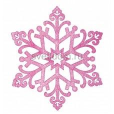 Елочная фигура Снежинка Снегурочка, 81 см, цвет фиолетовый Neon-Night 502-377