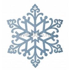 Елочная фигура Снежинка Снегурочка, 81 см, цвет голубой Neon-Night 502-378