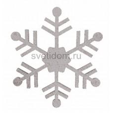 Елочная фигура Снежинка классическая, 66 см, цвет серебряный Neon-Night 502-385