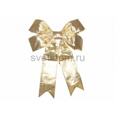 Елочная фигура Бантик 91 см, цвет золотой Neon-Night 502-531