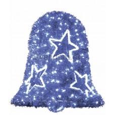 """Фигура """"Колокол"""", LED подсветка диаметр 75см высота 80см, синий Neon-Night 506-264"""