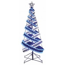 Елка в стиле Хайтек, размер 120см (434 светодиода синий+белый), с постоянным свечением Neon-Night 506-273