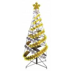 Елка в стиле Хайтек, размер 180см (767 светодиодов желтый+белый), с постоянным свечением Neon-Night 506-276