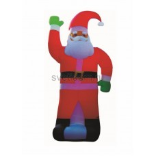 """3D фигура надувная """"Дед Мороз"""", размер 600 см, компрессор 160 Вт с адаптером 12В, IP44 Neon-Night 511-151"""