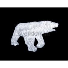 """Акриловая светодиодная фигура """"Белый медведь"""" 100х175см, 3872 светодиода, IP 44, понижающий трансформатор в комплекте Neon-Night 513-121"""