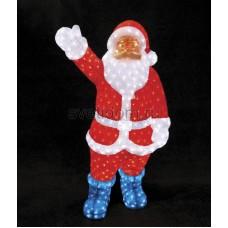 """Акриловая светодиодная фигура """"Санта Клаус"""" 210см, IP44 понижающий трансформатор в комплекте Neon-Night 513-182"""