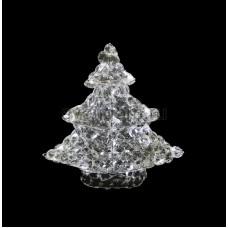 """Фигура стеклянная """"Новогодняя Ель"""" 40см 50 светодиодов, IP44 понижающий трансформатор в комплекте Neon-Night 513-265"""