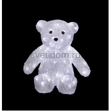 """Акриловая светодиодная фигура """"Медвежонок"""" 30 см, 80 светодиодов, IP 44, понижающий трансформатор в комплекте Neon-Night 513-268"""