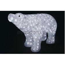 """Акриловая светодиодная фигура """"Белый медведь"""" 80*55 см, IP 44, понижающий трансформатор в комплекте Neon-Night 513-302"""