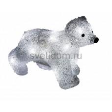 """Акриловая светодиодная фигура """"Медвежонок"""" 24х11х18 см, 4,5 В, 3 батарейки AA (не входят в комплект), 16 светодиодов Neon-Night 513-312"""