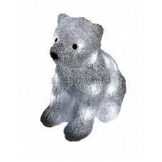 """Акриловая светодиодная фигура """"Медвежонок"""" 17х24х29 см, 4,5 В, 3 батарейки AA (не входят в комплект), 20 светодиодов Neon-Night 513-313"""