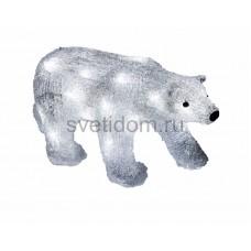 """Акриловая светодиодная фигура """"Медведь"""" 34,5х12х17 см, 4,5 В, 3 батарейки AA (не входят в комплект), 24 светодиода Neon-Night 513-315"""