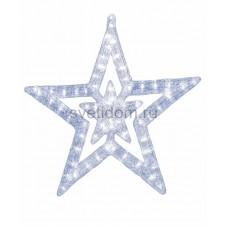 """Акриловая светодиодная фигура """"Звезда"""" 62 см, 62х59х2,5см, 63 светодиода, IP44 понижающий трансформатор в комплекте Neon-Night 513-343"""