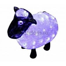 """Акриловая светодиодная фигура """"Овца"""" 30см, 56 светодиодов, IP65, 24В Neon-Night 513-401"""