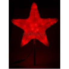 """Акриловая светодиодная фигура """"Звезда"""" 80см, 240 светодиодов, красная Neon-Night 513-482"""