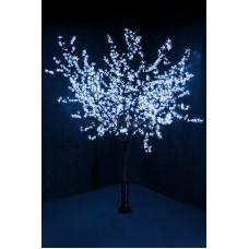 """Светодиодное дерево """"Сакура"""", высота 2,4м, диаметр кроны 2,0м, синие светодиоды, IP64, понижающий трансформатор в комплекте Neon-Night 531-123"""