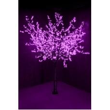 """Светодиодное Дерево """"Сакура"""", высота 2,4м, диаметр кроны 2,0м, фиолетовые диоды, IP64, понижающий трансформатор в комплекте Neon-Night 531-126"""