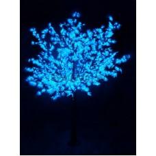 """Светодиодное дерево """"Сакура"""", высота 3,6м, диаметр кроны 3,0м, синие светодиоды, IP54, понижающий трансформатор в комплекте Neon-Night 531-233"""