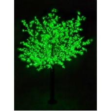 """Светодиодное дерево """"Сакура"""", высота 3,6м, диаметр кроны 3,0м, зеленые светодиоды, IP54, понижающий трансформатор в комплекте Neon-Night 531-234"""