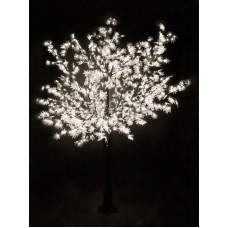 """Светодиодное дерево """"Сакура"""", высота 3,6м, диаметр кроны 3,0м, белые светодиоды, IP54, понижающий трансформатор в комплекте Neon-Night 531-235"""