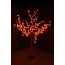 """Светодиодное дерево """"Сакура"""", высота 1,5 м, диаметр кроны 1,3м, красные диоды, IP 44, понижающий трансформатор в комплекте Neon-Night 531-302"""