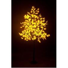 """Светодиодное дерево """"Клён"""", высота 2,1м, диаметр кроны 1,8м, желтые светодиоды, IP 65, понижающий трансформатор в комплекте Neon-Night 531-511"""