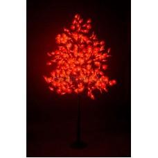 """Светодиодное дерево """"Клён"""", высота 2,1м, диаметр кроны 1,8м, красные светодиоды, IP 65, понижающий трансформатор в комплекте Neon-Night 531-512"""