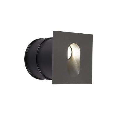 Подсветка светодиодная Maytoni O022-L3GR 70*70 мм 3 Вт 4000К