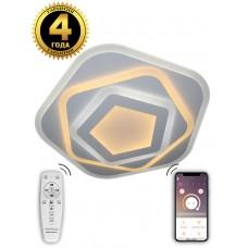 Светодиодная люстра Natali Kovaltseva LED LAMPS 6056 120W белый 3300/4300/7000K с пультом