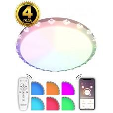 Светодиодный светильник Natali Kovaltseva LED LAMPS 81073 80W белый 2700/4300/7000K+RGB с пультом