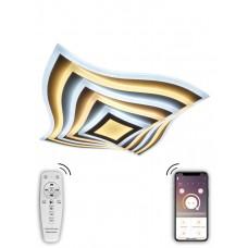 Потолочная светодиодная люстра Natali Kovaltseva 81039/6C 240W Белый 3300 / 4300 / 7000K