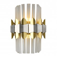 Настенный светильник Natali Kovaltseva SKALA 81435/1W BRASS SILVER 28W Хром