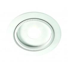 Встраиваемый светодиодный светильник Novotech 357347 Gesso 7 Вт ф110 мм 3000К, белый