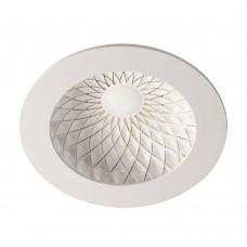 Встраиваемый светильник Novotech Gesso 357502 белый/золото 7 Вт 85-265V IP20 3000К