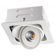 Встраиваемый светильник Novotech Gesso 357580 белый 15 Вт 85-265V IP20 3000K