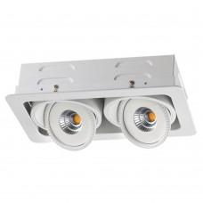 Встраиваемый светильник Novotech Gesso 357581 белый 30 Вт 85-265V IP20 3000K