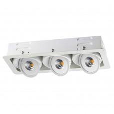 Встраиваемый светильник Novotech Gesso 357582 белый 45 Вт 85-265V IP20 3000K
