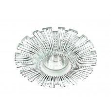 Встраиваемый светильник Novotech 370324 Pattern ф140 мм белый, хром