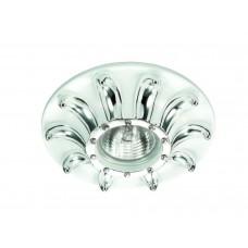 Встраиваемый светильник Novotech 370329 Pattern ф135 мм белый, золото