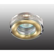 Встраиваемый светильник влагозащищенный Novotech Aqua IP54 369881