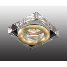 Встраиваемый светильник влагозащищенный Novotech Aqua IP54 369882