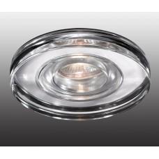 Встраиваемый светильник влагозащищенный Novotech Aqua IP54 369883