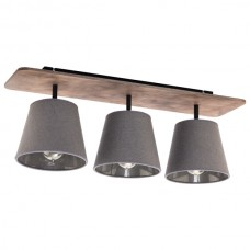 Потолочный светильник Nowodvorski 9717 Awinion Дерево, серый