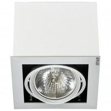 """Встраиваемый светильник """"кардан"""" Nowodvorski 5305 Box Белый"""
