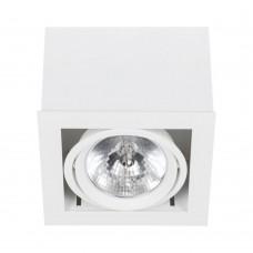 """Встраиваемый светильник """"кардан"""" Nowodvorski 6455 Box Белый"""
