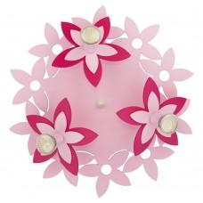 Люстра в детскую Nowodvorski 6895 Flowers Розовый
