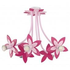 Люстра в детскую Nowodvorski 6896 Flowers Розовый