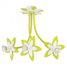 Люстра в детскую Nowodvorski 6898 Flowers Зеленый