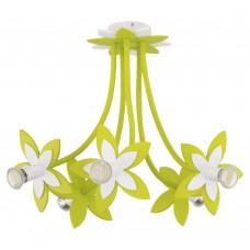 Люстра в детскую Nowodvorski 6901 Flowers Зеленый